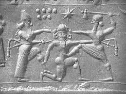 Seven stars Sumerian tablet, circa 2500 bc