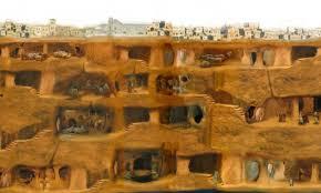 Cabbadicia underground city, Turkey